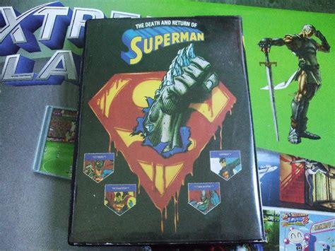 sega genesis superman review of the superman for sega mega drive featuring
