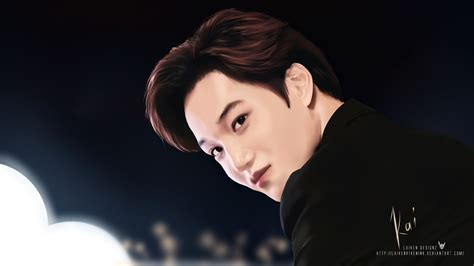 wallpaper d o exo hd exo kim jongin kai by laikendesignz on deviantart
