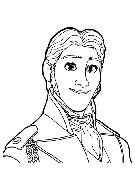 queen elsa coloring pages prince hans want to hurt queen