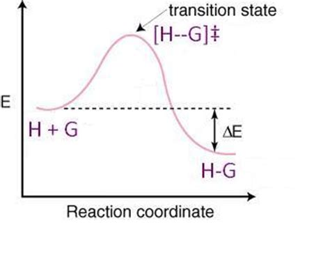 energy reaction coordinate diagram host guest chemistry