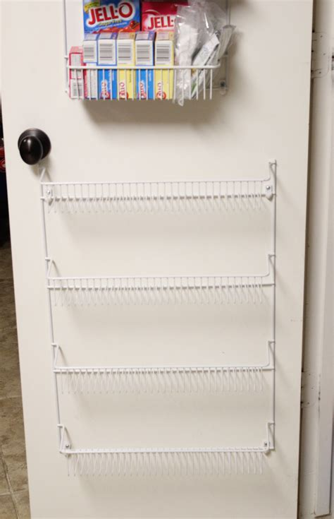 The Door Pantry Rack Home Depot by 100 Pantry Door Organizer Wire Rack Shelving To