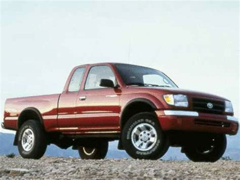 Toyota Tacoma Reliability 1998 Toyota Tacoma Specs Safety Rating Mpg Carsdirect
