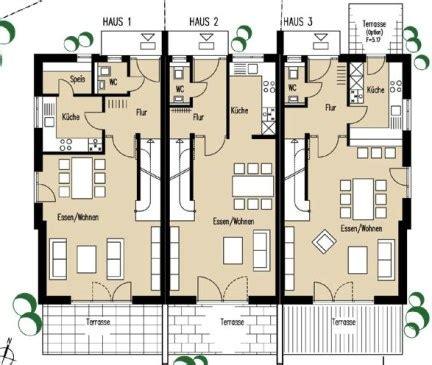 Moderne Reihenhäuser by 119 Hausplanung Grundriss H User Kern Haus Stadtvilla