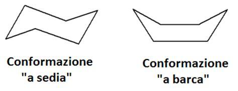 conformazione a sedia la conformazione a sedia e la posizione dei sostituenti