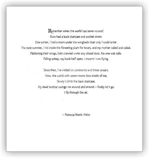 exle of prose prose poetry
