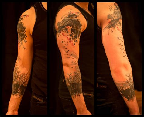 forest tattoo forearm 50 best designs for arms