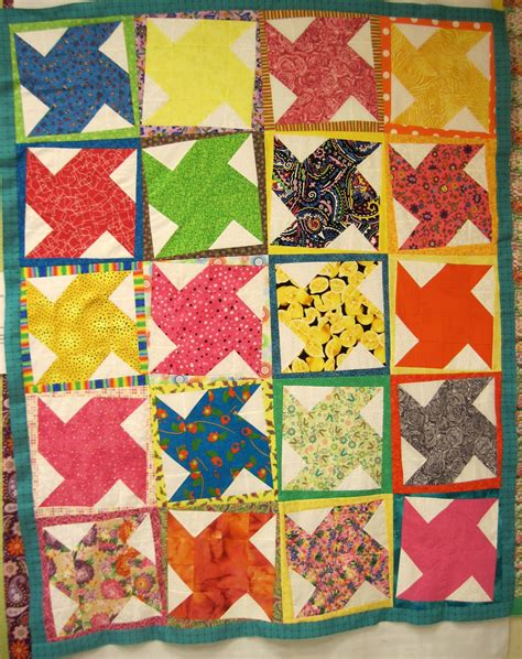 Potato Chip Quilt Pattern by Jean S Quilting Page Potato Chip Quilt Finished