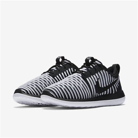 Nike Roshe Two Flyknit Black White new womens lifestyle shoes nike roshe two flyknit black white cool grey vrq4527 great