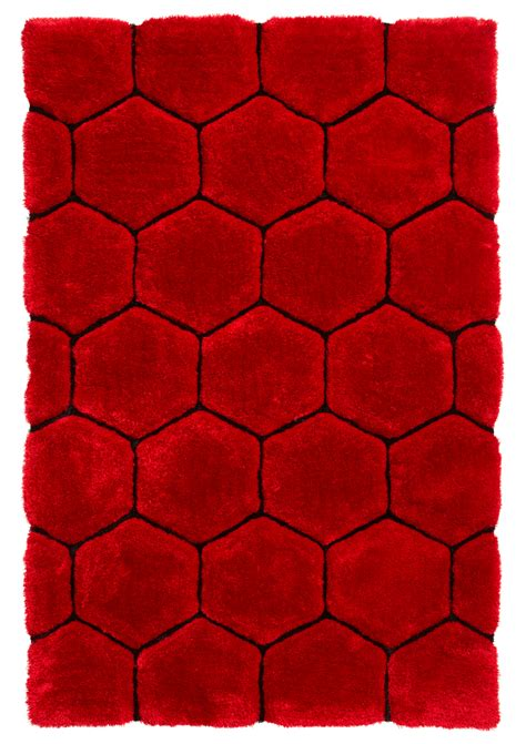 hexagon rugs black hexagon rug soft shaggy pile noble house honeycomb floor mat ebay