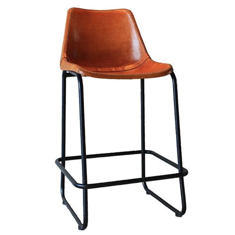 industries leather bar stool indsutrial leather bar stool from rockett st george bar