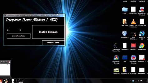 themes for windows 7 black glass black full glass theme windows 7