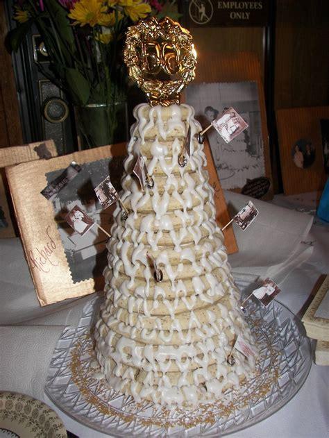 Kransekake (swedish wedding cake)   Wedding Ideas   Pinterest