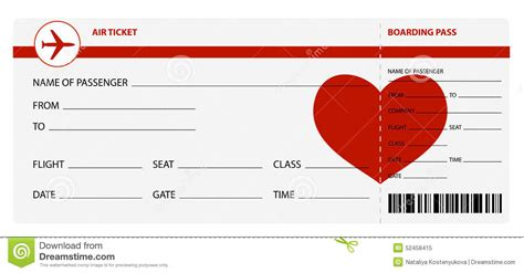 flight ticket template gift 28 images of plane ticket template for gift leseriail