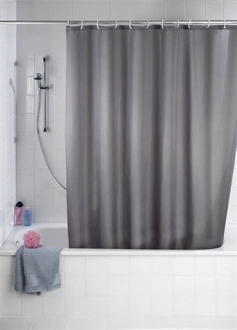 curtain mould wenko grey anti mould shower curtain 180 x 200cm