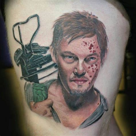 norman tattoo daryl dixon my out of norman reedus daryl