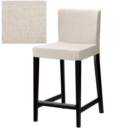 bar chair slipcovers ikea henriksdal linneryd natural bar stool slipcover