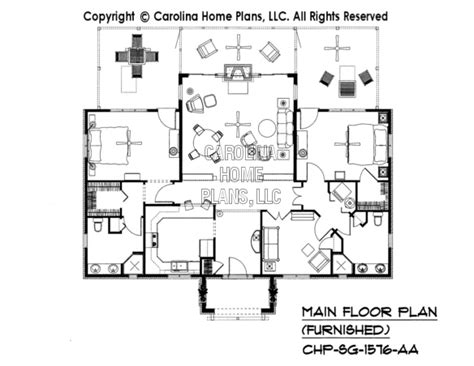 carolina home plans 3d images for chp sg 1576 aa small stone cottage 3d