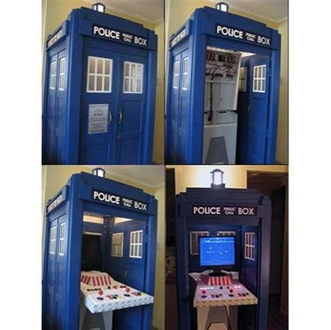 building a photo booth cabinet retro arcade booths dr who time machine