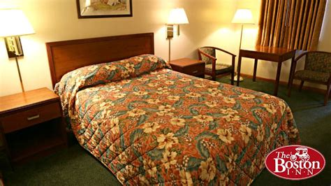 bedding inn one double bed economy room the boston inn