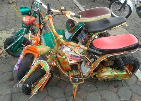 Cara Membuat Lu Hias Sepeda Motor | modifikasi motor pesona motor mini hias alkid otomotif