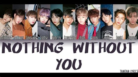 download mp3 wanna one beautiful ดาวน โหลดเพลง nothing without you wanna one lyrics han