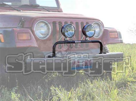 1997 Jeep Wrangler Light Bar J0029546 Steinjager Grill Guard With Light Bar Lights Not