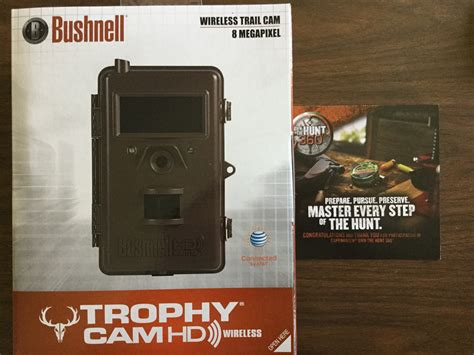 Freshcope Sweepstakes - won a bushnell wireless hd trail cam from the copenhagen