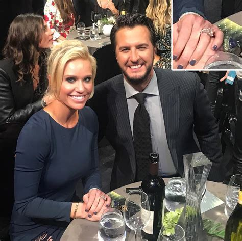 Luke Bryan Talks His Wife's New Diamond Ring   PEOPLE.com