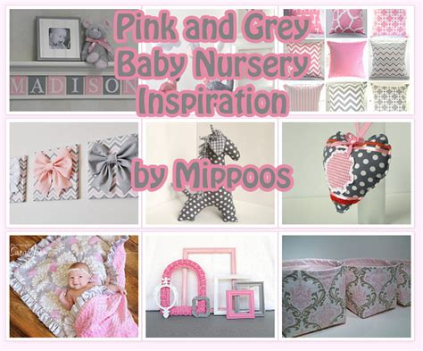 Pink And Grey Decorations by Pink And Grey Baby Inspiration Archives Mippoos