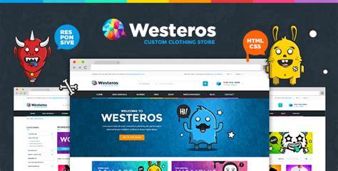 themeforest olympus themeforest westeros custom clothing responsive html