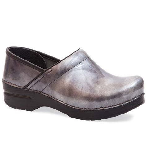 clogs for dansko professional pewter patent clog