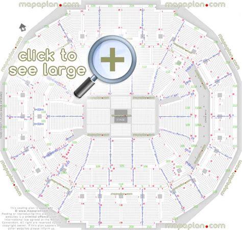 Men Arena Floor Plan fedexforum seat amp row numbers detailed seating chart