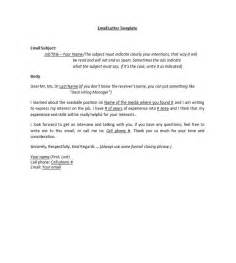 Emailing A Cover Letter And Resume by Cover Letter Templates