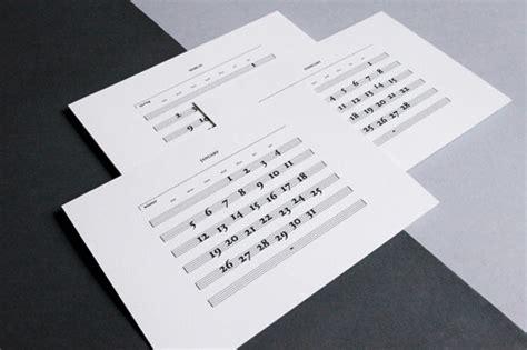 design milk modern calendars 25 modern calendars for 2014 design milk