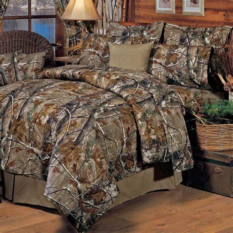 realtree all purpose camo comforter set full