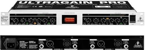 Ultragain Pro Mic2200 behringer ultragain pro mic2200 deavsolutions