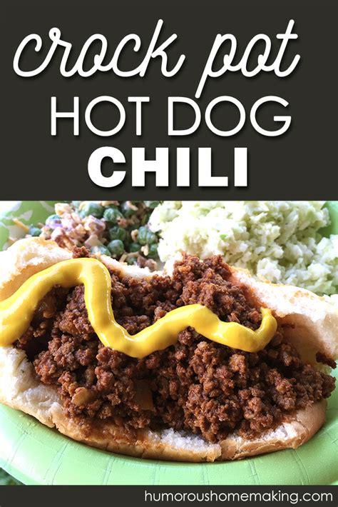 dogs in crock pot crock pot chili humorous homemaking