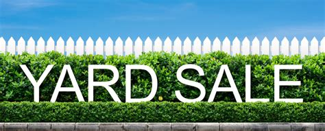 backyard sale home moving tips the perfect yard sale american life homes