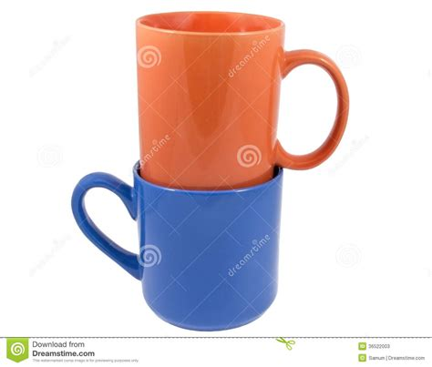 Tea And Coffee Mugs by Mugs For Coffee Or Tea Stock Photos Image 36522003