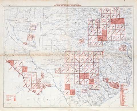 topographical map texas texas map
