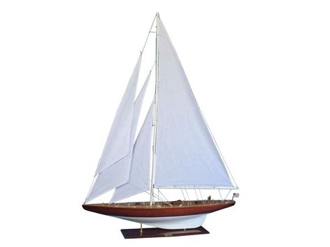 Sailboat Models For Decoration by Rustic William Fife 60 Quot Wooden Vintage Sailboat Model