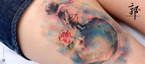 gorgeous tattoos inspired by the little prince quirk