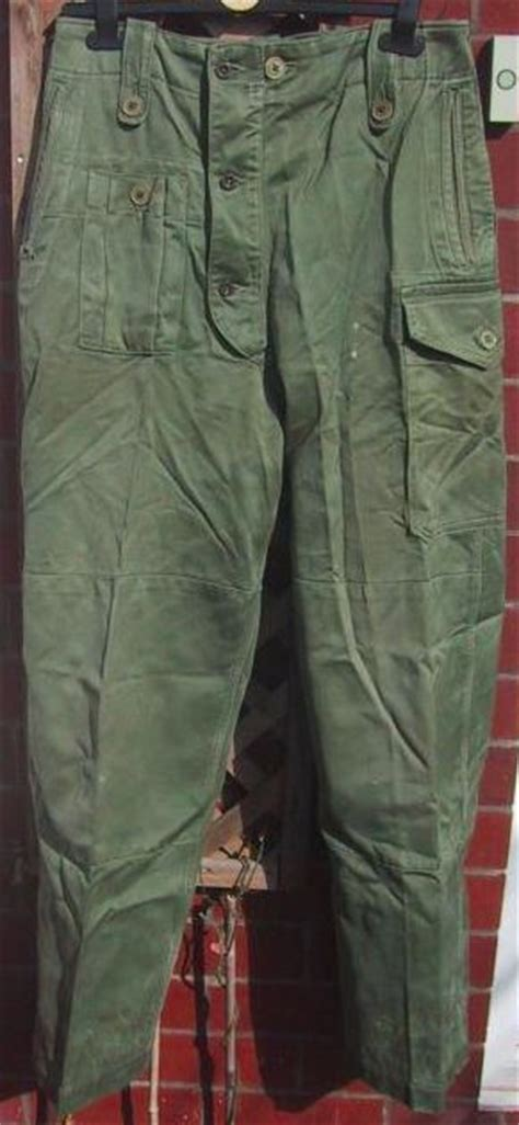 army pattern jeans british 1950 pattern combat trousers vintage military