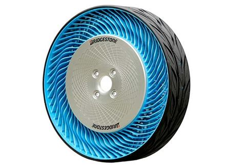 Bridgestone Airless Tires by Second Generation Bridgestone Airless Tires Wordlesstech