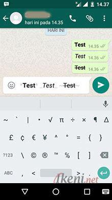 whats app style photos tips whatsapp membuat teks bold italic dan strikethrough