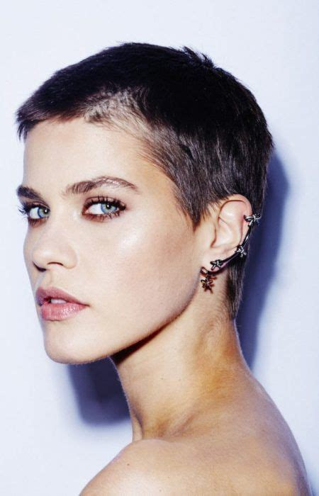 crew cut hairstyles for women badass buzz haircuts for women 2017 styles art hair