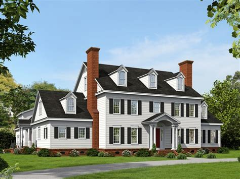 luxury colonial house plans colonial house plans premier luxury colonial home plan 062h 0064 at www