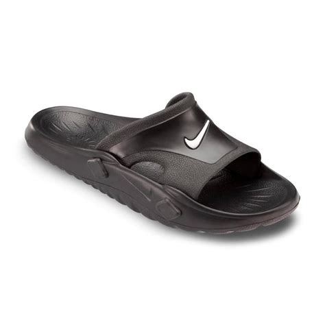 mens nike slip on sandals nike getasandal mens slip on flip flop sandal black uk