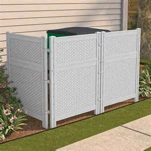 Kitchen Cabinet Waste Bins how to hide garbage cans bing images landscaping