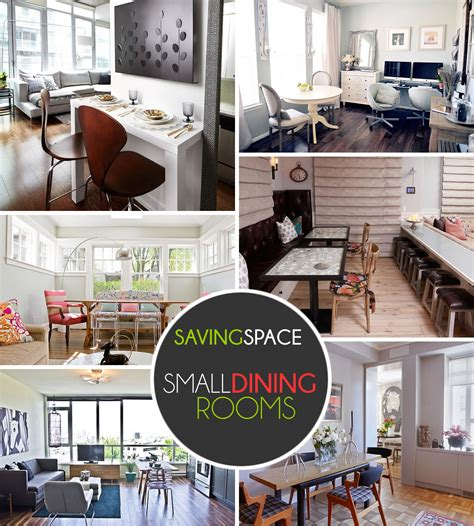 no dining room solutions small dining rooms that save up on space